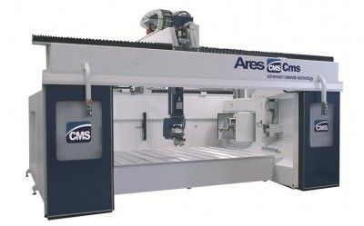 CNC machining center / 5-axis / vertical / high-speed ARES MODEL 3618