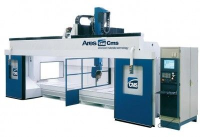 CNC machining center / 5-axis / vertical / high-speed ARES MODEL 4818