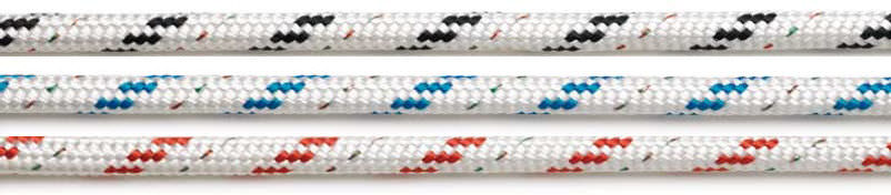 Sheet cordage / polypropylene core / Polyester cover / for sailing dinghy SYDNEY