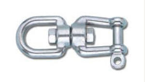 Sailboat shackle / with swivel N03