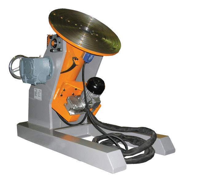 Motorized welding positioner / rotary / 1/2-axis 500 – 30 000 kg