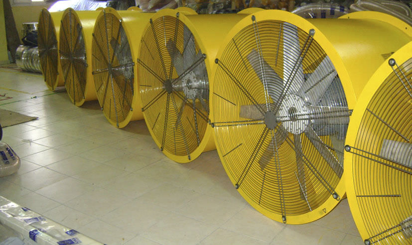 Axial fan / exhaust / direct-drive / for circular ducts UAS RP/RA series