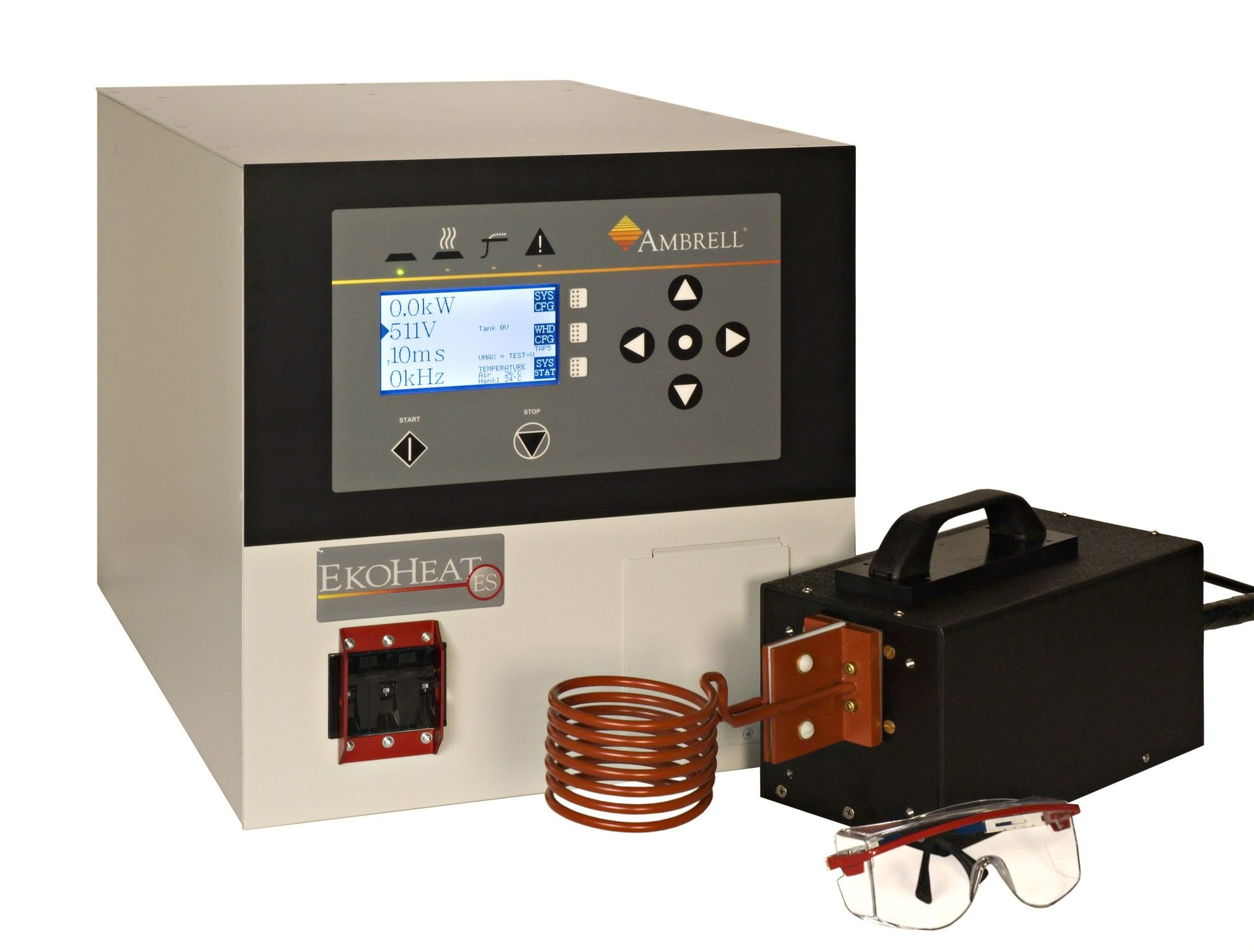 EKOHEAT 10/100 Quenching induction heater 10 kW, 50 – 150 kHz