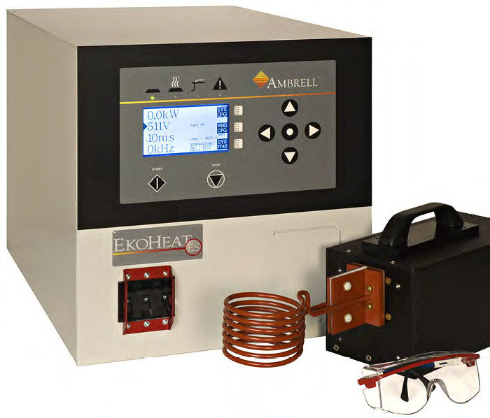 EKOHEAT 15/100 Quenching induction heater 15 kW, 50 – 150 kHz