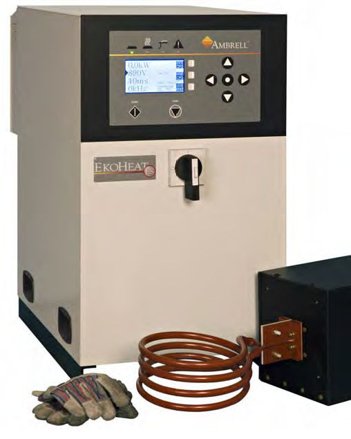 EKOHEAT 45/100 Quenching induction heater 45 kW, 50 – 150 kHz