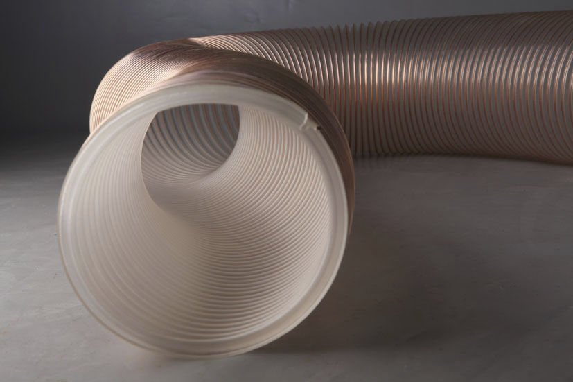 UAS MODERATO TRANSFLEX Chemical product hose / transport / polyurethane-coated / abrasion-resistant ø 102 – 254 mm, 3.2 – 4.8 mm