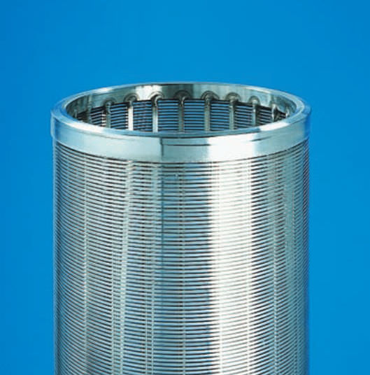 SRF Coarse pre-filtration filter cartridge / stainless steel / for liquids 25 – 1 000 μm