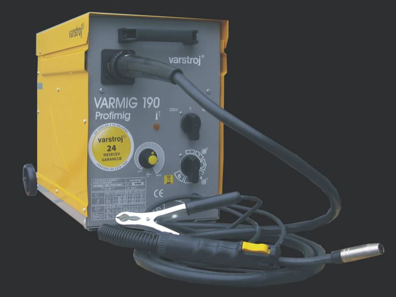 VARMIG 190 Profimig MIG welder / MAG / single-phase / mobile max. 190 A