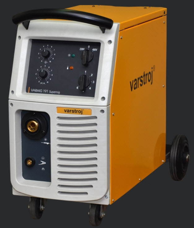 VARMIG 191 Supermig MIG welder / MAG / single-phase / mobile max. 190 A