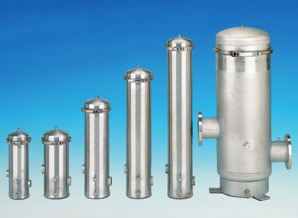 WTKF Liquid filter housing / stainless steel DN125