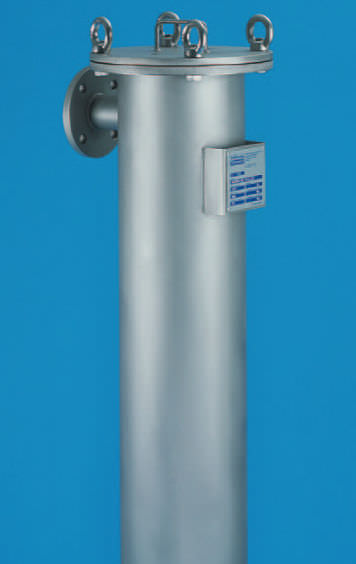Liquid filter housing / stainless steel WTSD