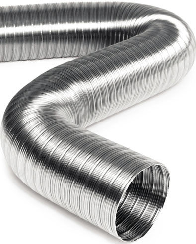 Flexible air duct / stainless steel / extraction / high-temperature UAS FUGA STAINLESS STEEL PIPES