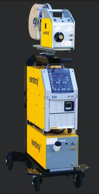 VPS 3200 digit MIG welder / MAG / three-phase / pulsed 30 – 320 A
