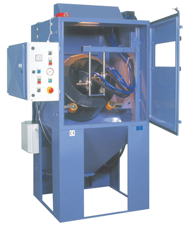 Pressure wet blasting machine / stationary / automatic TUMBLER