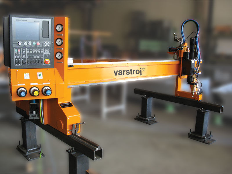 VARCUT L1 series Plasma cutting machine / CNC max. 150 mm, max. 6 000 mm/min