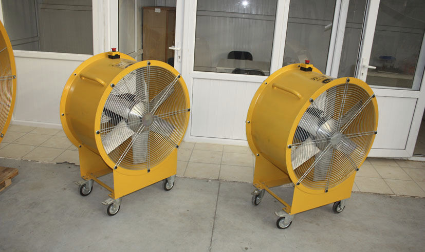 Axial fan / extraction / mobile 200 – 300 Pa