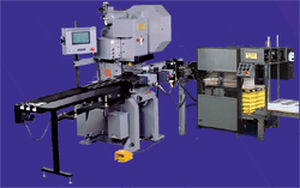 Automatic punching machine / for plastic cards M535