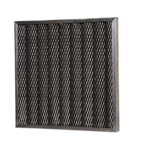 Panel filter / activated carbon / air 610 x 610 x 47 mm